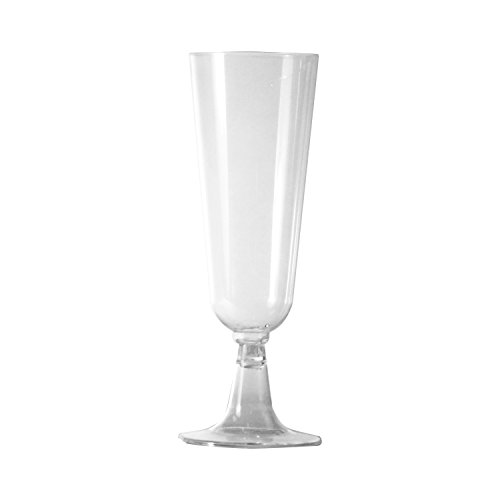 Party Essentials N552021 2 Piece Mimosa Flutes, 5.5 oz., Clear (Pack of 240)