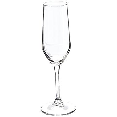 Bormioli Rocco Riserva Champagne Glasses, Set of 6