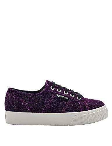 40 Women's Purple Glitter Jersey Size Sneakers Superga 2730 In ZfxwnPP