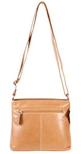Oxbridge Satchel Shop, Borsa a zainetto donna Tenné small