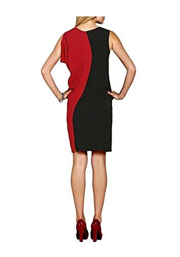 APART Damen Colorblocking Größe 38 Kleid Kleid aFr6xwap