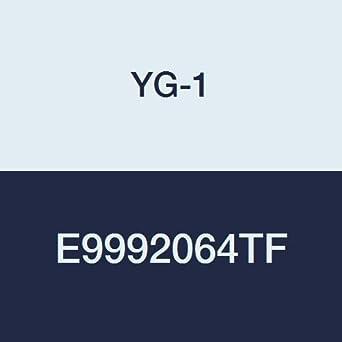 Tank-Power Finish Regular Length YG-1 E9992064TF Premium HSS-PM Ball Nose End Mill 4-3//4 Length 2 Flute 1