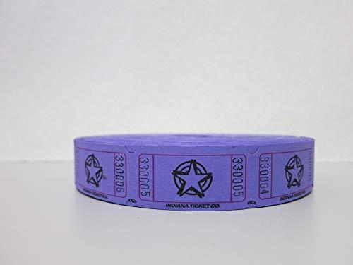 roll of tickets purple - 6
