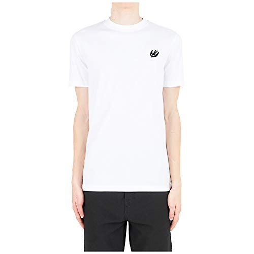 McQ Alexander McQueen Men t-Shirt Swallow Optic White XS