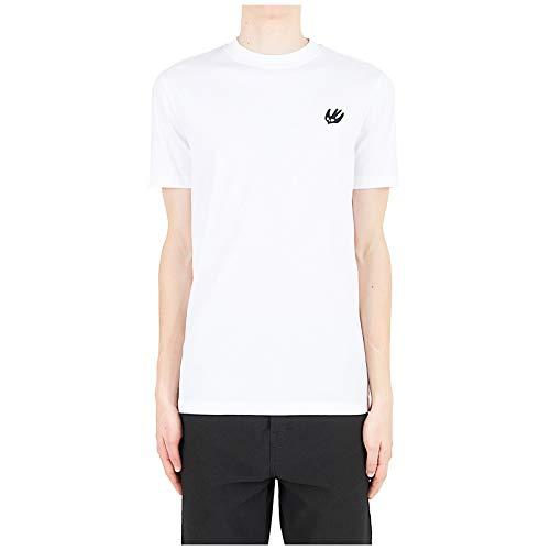 McQ Alexander McQueen Men t-Shirt Swallow Optic White S
