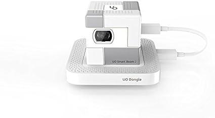 Cubo de 1.75 Pulgadas Ultra Mini/Pequeño Pico Proyector UO Smart ...
