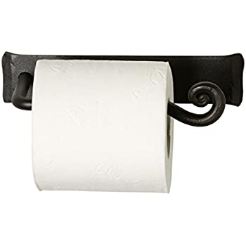 Amazon Com Wrought Iron Toilet Tissue Bar Holder