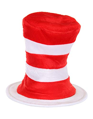 elope Dr. Seuss Cat in the Hat Deluxe Velboa Hat by elope (Image #1)'