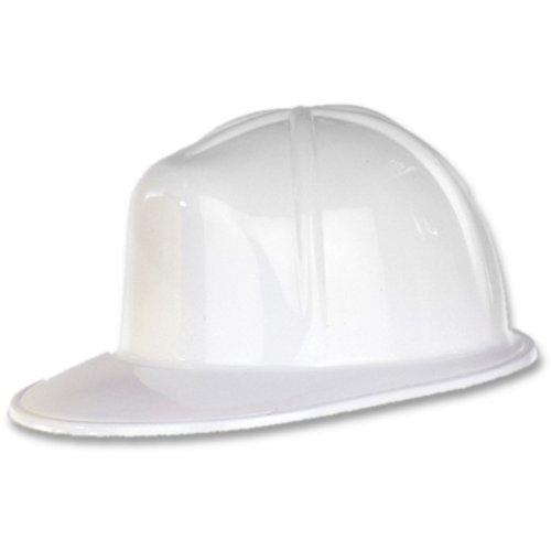Beistle White Plastic Construction Helmet