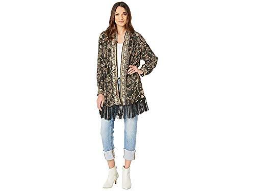 - Free People Women's Kaelin Jacket Black Combo Small