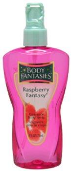 (Women Body Fantasies Raspberry Fantasy Fragrance Body Spray 8 oz 1 pcs sku# 1787150MA)