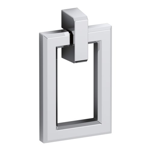 KOHLER K-99687-HF1 Poplin Rectangular Pull in Polished Chrome