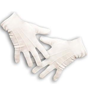 cc89bf4ff1fdf6 Rubie's Offizielle Kinder-Handschuhe, Baumwolle, Einheitsgröße, Weiß ...