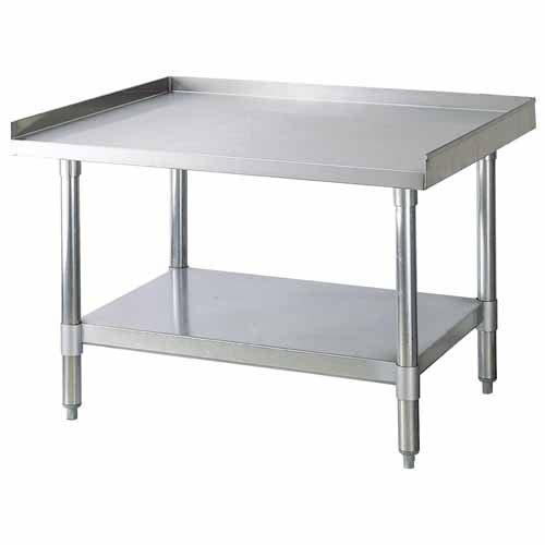 Equipment Stand 30x60 S/S 6 legs (1 ea/cs)
