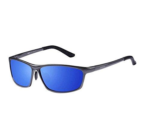 sdas Full-Frame Aluminum-Magnesium Polarized Sunglasses Tide Male Driver Mirror Driving Mirror Sunglasses