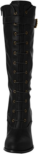 Statement Negro Black Joe Boots A Botas Mujer Browns Long PaTFYFw5q
