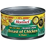 Hormel Breast Of Chicken In Water With Rib Meat 10 OZ (Pack of 12)