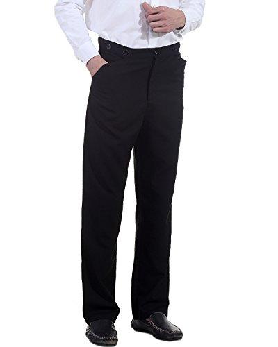 Steampunk Victorian Costume Classic Victorian Men's Trouser (xl) ()