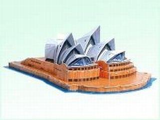 Sydney opera house model 3d