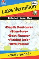 Lake Vermilion Fishing Map (Minnesota Fishing Series, L147)
