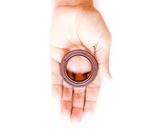 Oil Seal 1.500''x2.250''x0.313'' (10 PCS) Viton Oil Seal Grease Seal TC |EAI Rubber Double Lip w/Garter Spring. 1 1/2''x2 1/4''x5/16'' | 38.1mmX57.15mmX7.95mm by EAI (Image #3)