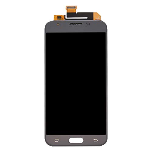 (RENXIANG LCD Screen Galaxy A70/A50/A40/A40/A30/A20/A10 LCD Screen + Touch Panel for Galaxy J3 Emerge / J327, J327P, J327A(Black) (Color :)