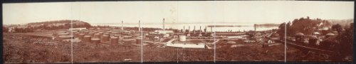 HistoricalFindings Photo: 1909 Panoramic: Sugar Creek Refinery, Missouri