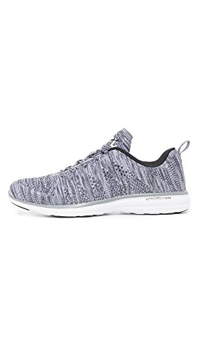 APL Propulsion Techloom Heather Grey Running Labs Pro Athletic Men's Sneakers xpqSwfx