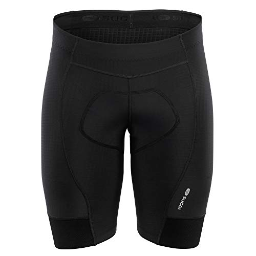 SUGOi - Men's Evolution Short, Black, Large (Bib Evolution Cycling Mens)