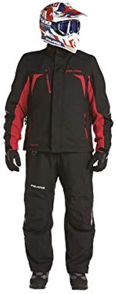 Polaris New OEM Mens Pro Jacket Tall 286770205 Black//Red Medium