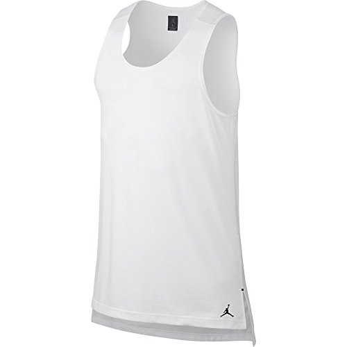 Jordan 23 Lux Vest Men's Tank Top White 846306-100 (Size M) by Jordan