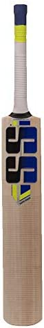 SS Kashmir Willow Leather Ball Cricket Bat, Exclusive Cricket Bat for Adult Full Size with Full Protection Cov