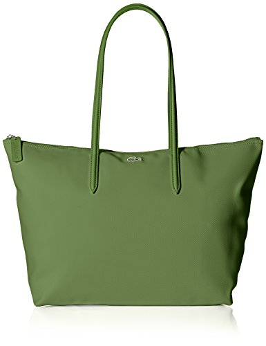 Lacoste L.12.12 Concept Large Shopping Bag, NF1888PO, Watercress by Lacoste