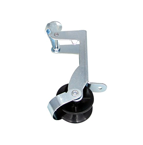 Small Anchor Roller (Pactrade Marine Small Boat Anchor Locking Control Pulley Bow Roller 1/4'' to 1/2'' Rope Up to 20Lbs)