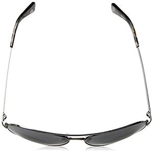 Cole Haan Ch6007s Aviator Sunglasses, Dark Gunmetal, 58 mm