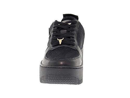 Sneakers Smith Nero Pelle Donna Windracerrtn Windsor xYnPfpqwA5