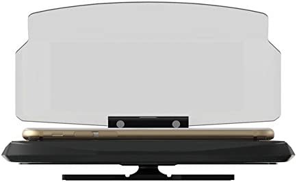 Visualizador frontal para coche, proyector para el navegador GPS y soporte para teléfonos de hasta 6,5 pulgadas, de Chengstore