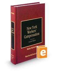 Read Online New York Workers' Compensation, 2nd (Vol. 27, New York Practice Series) PDF