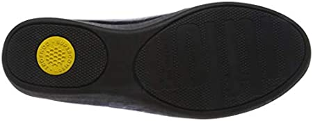 FitFlop Audrey Metallic Smoking Slippers, Mocasines Mujer