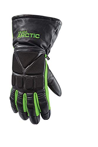 ca4e464c360 Arctic Cat Glove Team Arctic Green Leather L
