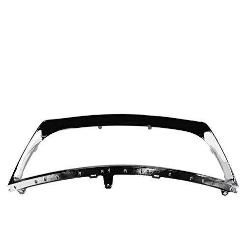KEYSTONE 5271133080 - LX1202101 LEXUS ES350 REPLACEMENT FRONT GRILLE SURROUND (Lexus Chrome Grill)