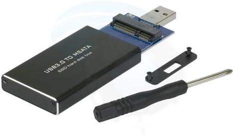 LeHang SSD mSATA a USB 3.0 Unidad de Disco Duro Caja de Memoria ...