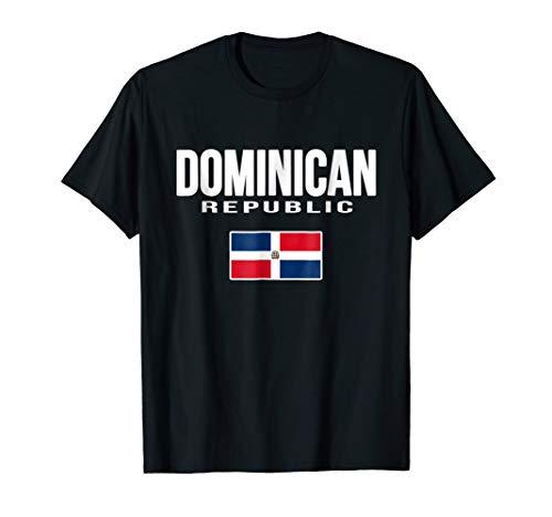 Dominican Republic Flag T-shirt Republica Dominicana (Dominican Republic Flag T-shirt)