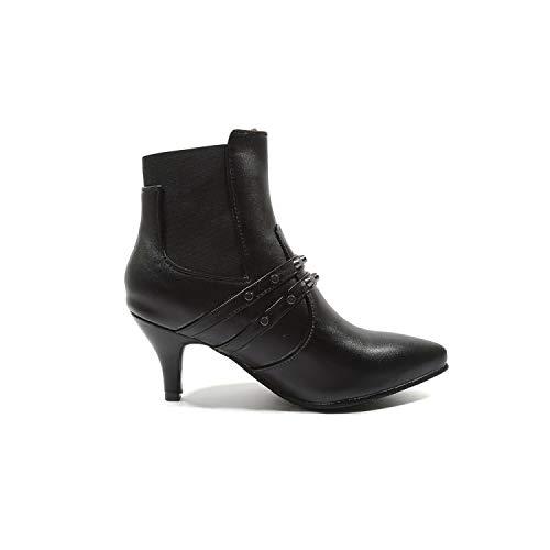 Show Black Women's Shine Boots Chelsea Bungees qwq87zg