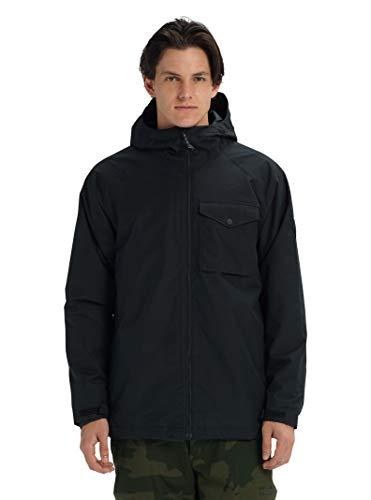 Burton Men's Portal Jacket, True Black W20, - Taffeta Pouch