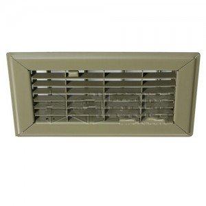 "Price comparison product image Hart & Cooley HVAC Register, 4"" H x 8"" W, Steel for Floor - Golden Sand (010630)-2PK"