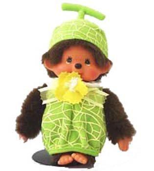 Monchichi Costume (Monchhichi Fruit Costume Melon Plush Doll by Monchhichi)