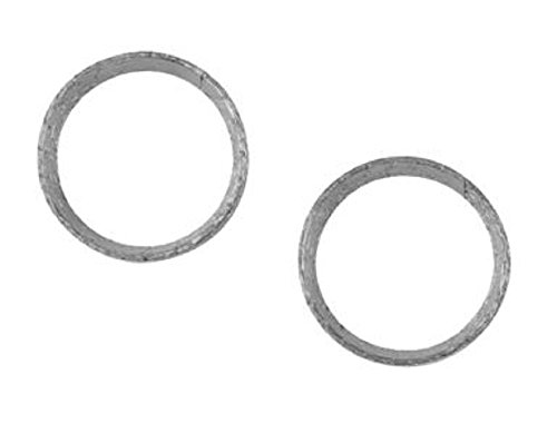 Cometic C9540 PAIR of Spiral Wound Stainless Steel Exhaust Port Gaskets for Harley