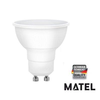 MATEL M288960 - Bombilla led gu10 dicroica 8w - 800 lumenes: Amazon.es: Hogar