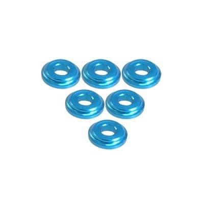 3RACING Integy RC Model Hop-ups 3RAC-WFS820/LB Shock Tower Shim M8 x 2mm (6pcs) - LIght Blue